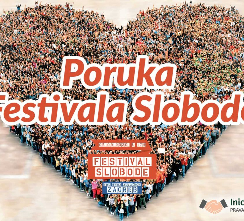 poruka festivala slobode
